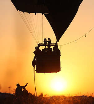 Balloon flight Monsaraz